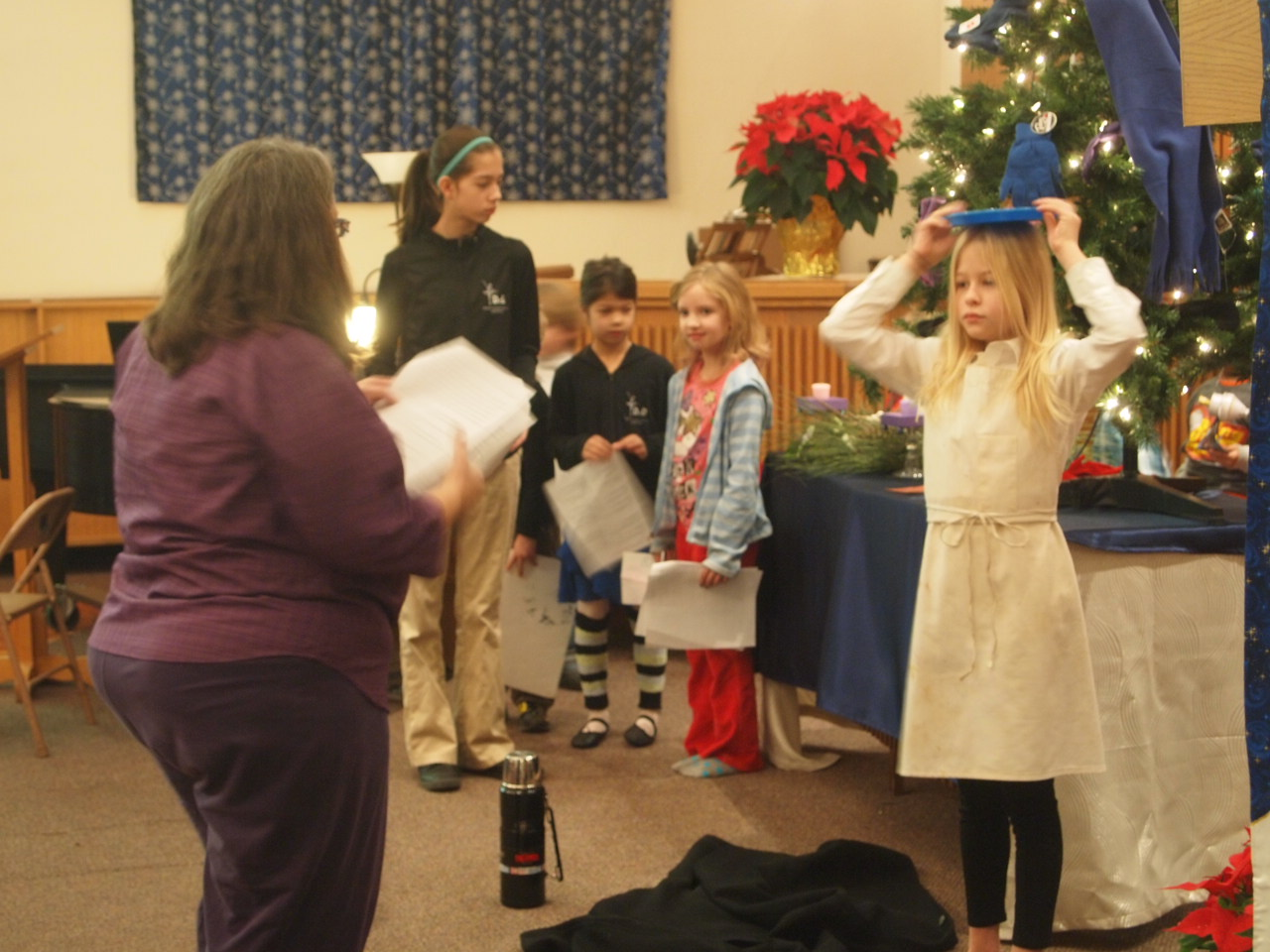Christmas Play Rehearsal